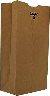 Duro ID# 18405 5# SOS Bag 35# 100% Recycled Natural Kraft, Pack of 500
