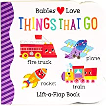 Things That Go Chunky Lift-a-Flap Board Book (Babies Love)