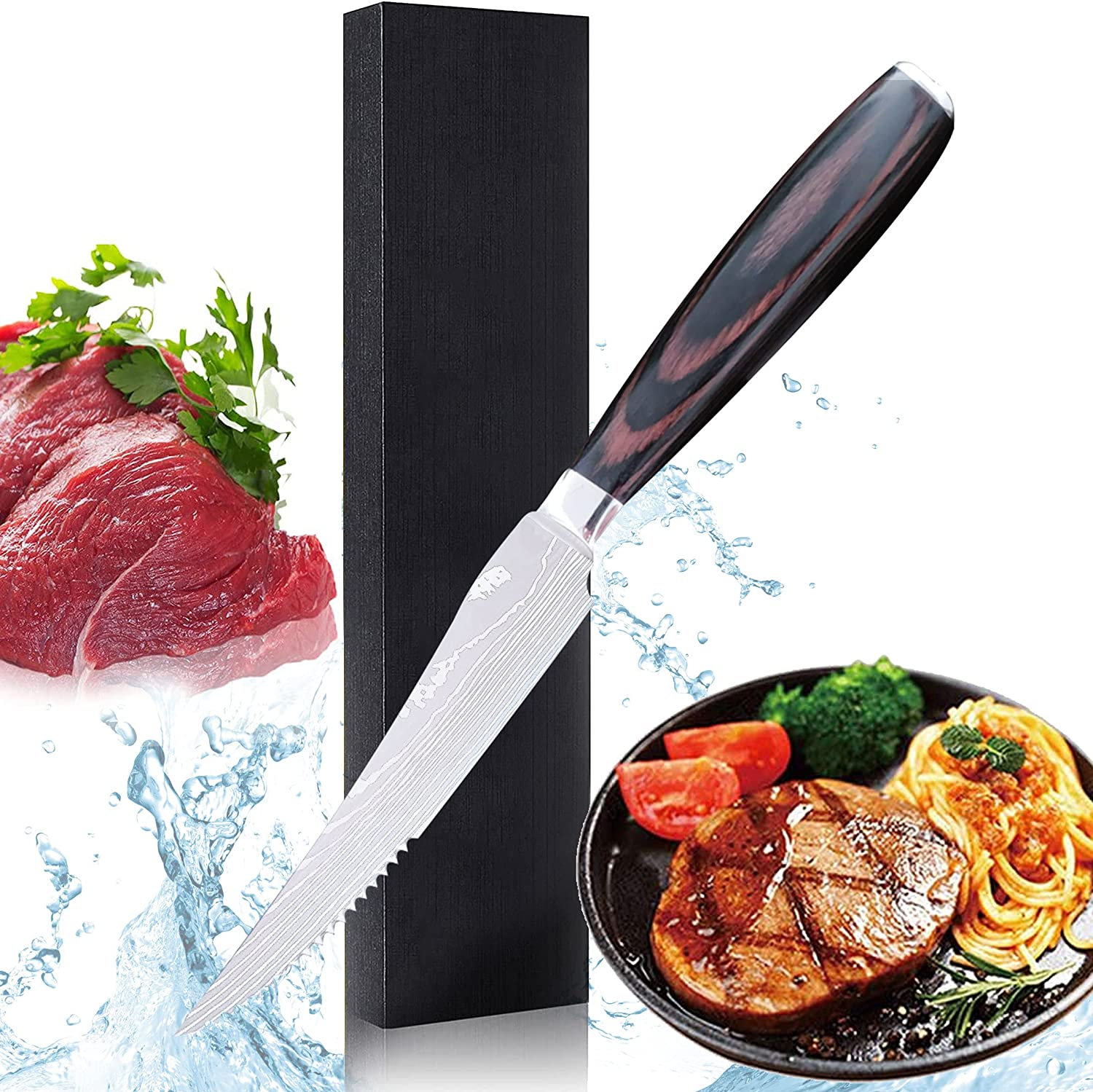 Las Vegas Mall Steak Knife 5 inch Professional Stainless Carbon Tucson Mall Steel High Stea