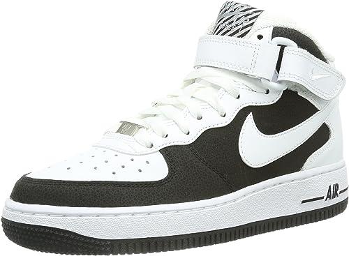 Nike Air Force 1 Mid 06, Sneaker a Collo Alto Bambino, Bianco ...