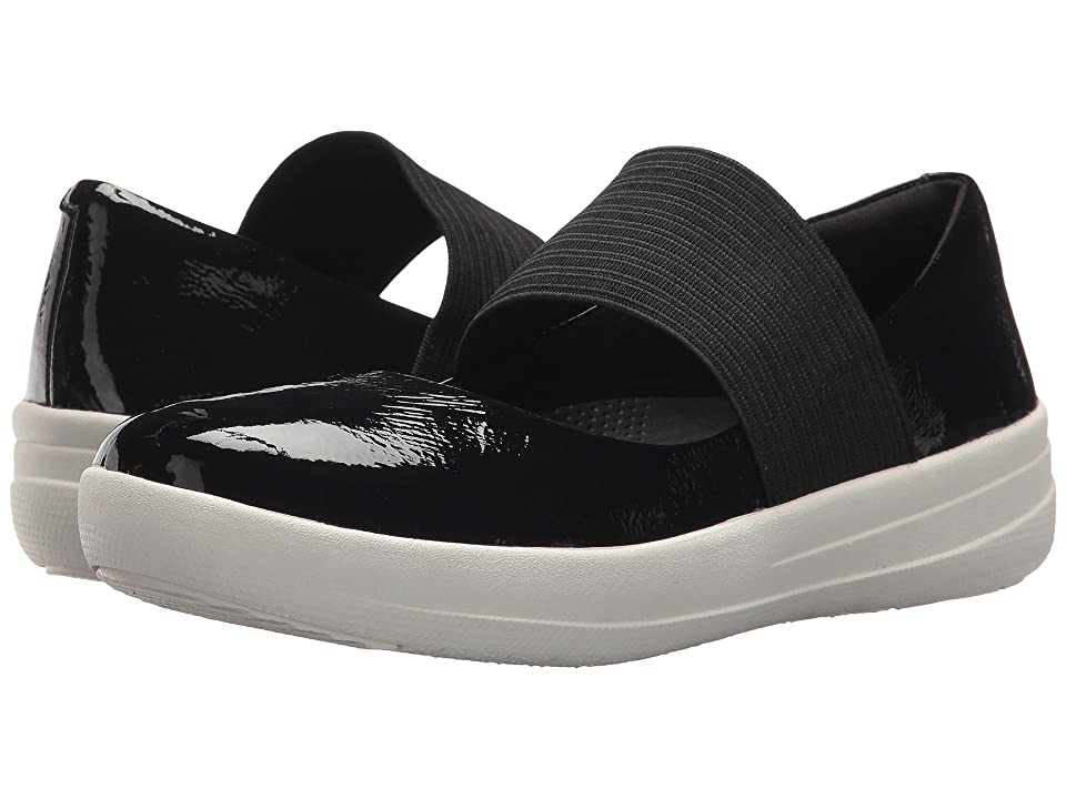 FitFlop F-Sporty Elastic Mary Jane (Midnight Navy) Women