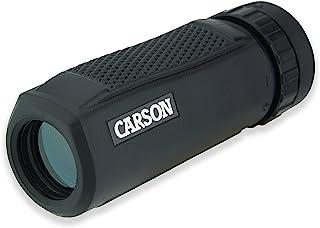 Carson 10 x 25 svart våg vattentät monokulär med nära fokus på 1,2 m