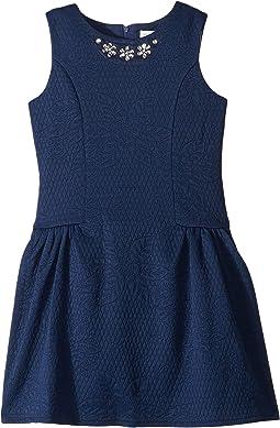 Textured Knit Dress (Little Kids)