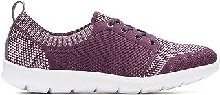 Clarks Women's Step Allenasun Aubergine Sneakers