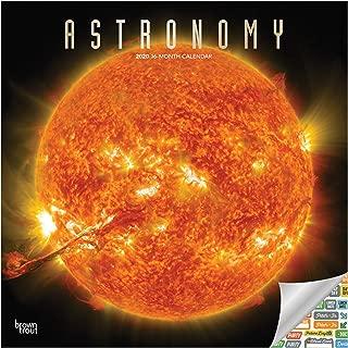 Astronomy Calendar 2020 Set - Deluxe 2020 Space Wall Calendar with Over 100 Calendar Stickers NASA Gifts, Office Supplies)