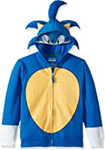 SEGA Kids' Sonic The Hedgehog Costume Hoodie