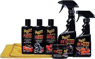 کیت مراقبت از موتور سیکلت Meguiar - بسته بندی برای تمیز کردن و تکمیل موتور سیکلت - G55033