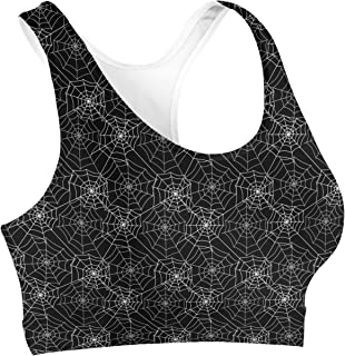 Rainbow Rules Spider Webs Sports Bra