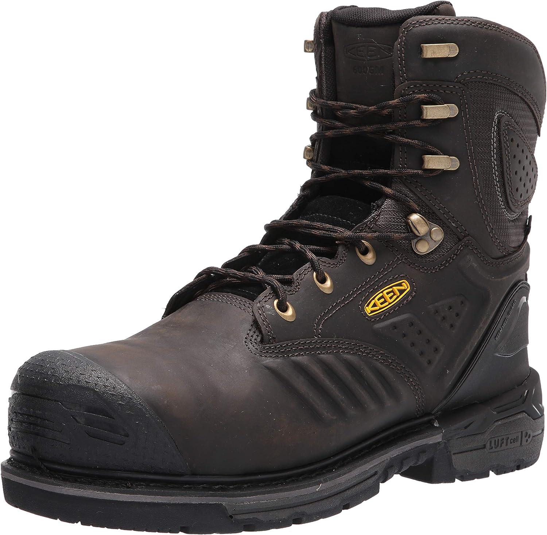 "KEEN Utility Men's CSA Philadelphia+ 8"" 600g Insulated Composite Toe Waterproof Work Boots Construction"