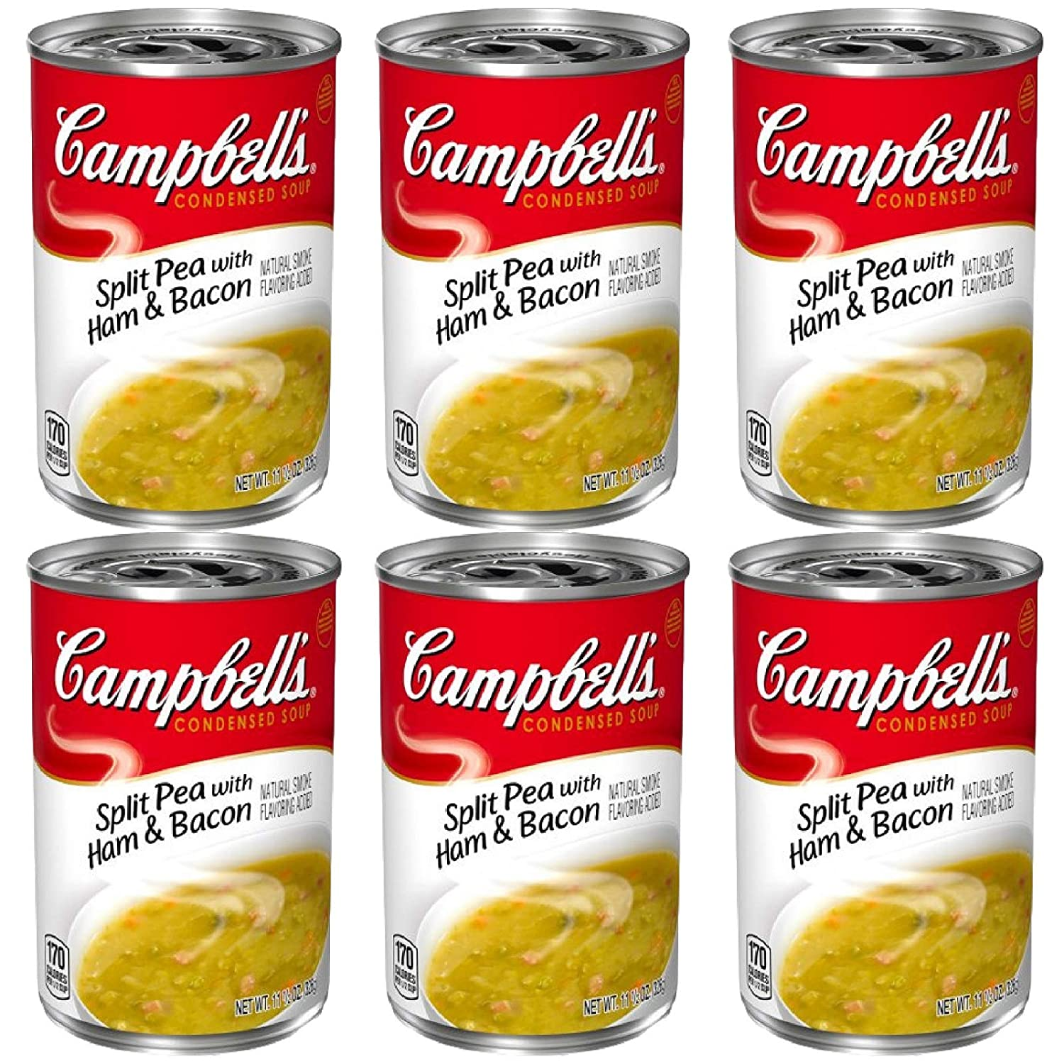 Indianapolis Mall Campbell's Condensed Split Pea Ham Soup 11.5oz Can Bacon free shipping