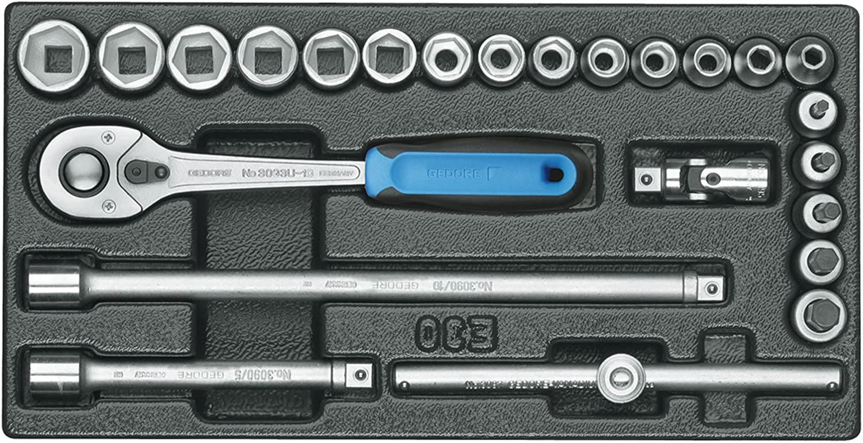 GEDORE 1500 ES-30 Steckschlüssel-Sortiment 3 8  in 1 3 ES-Modul B000UYW01I | Überlegene Qualität
