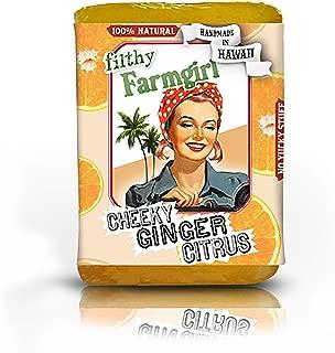Cheeky Ginger Citrus BAR SOAP Orange Grapefruit Lemon Ginger
