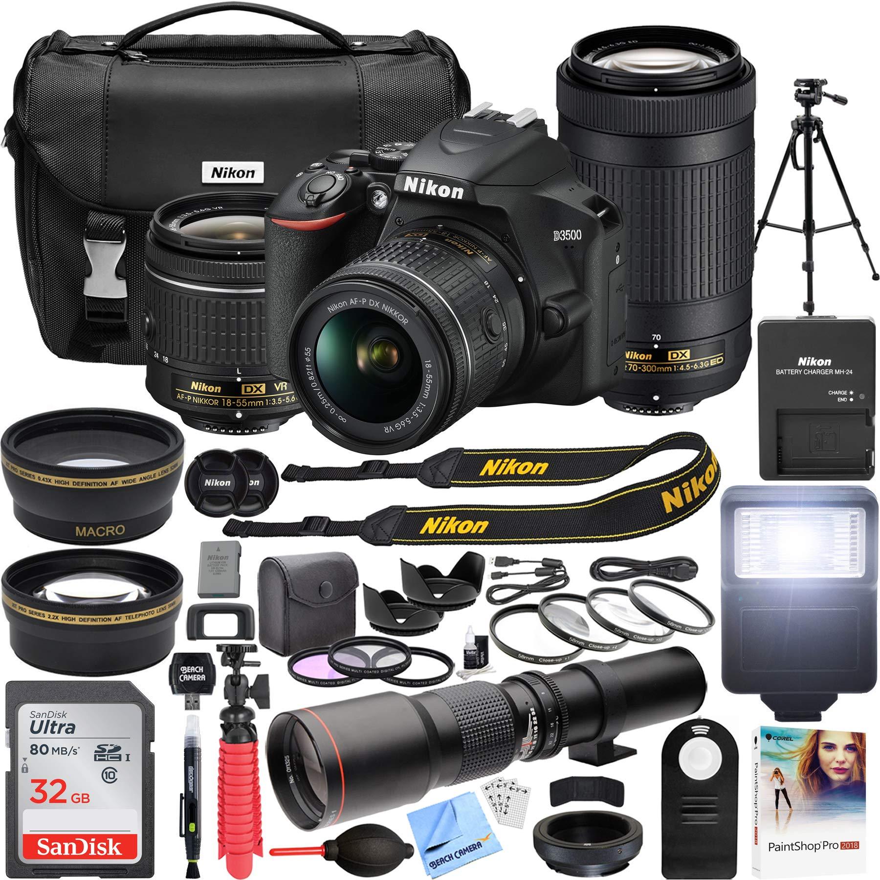 Nikon 3 5 5 6G 70 300mm Telephoto Accessories