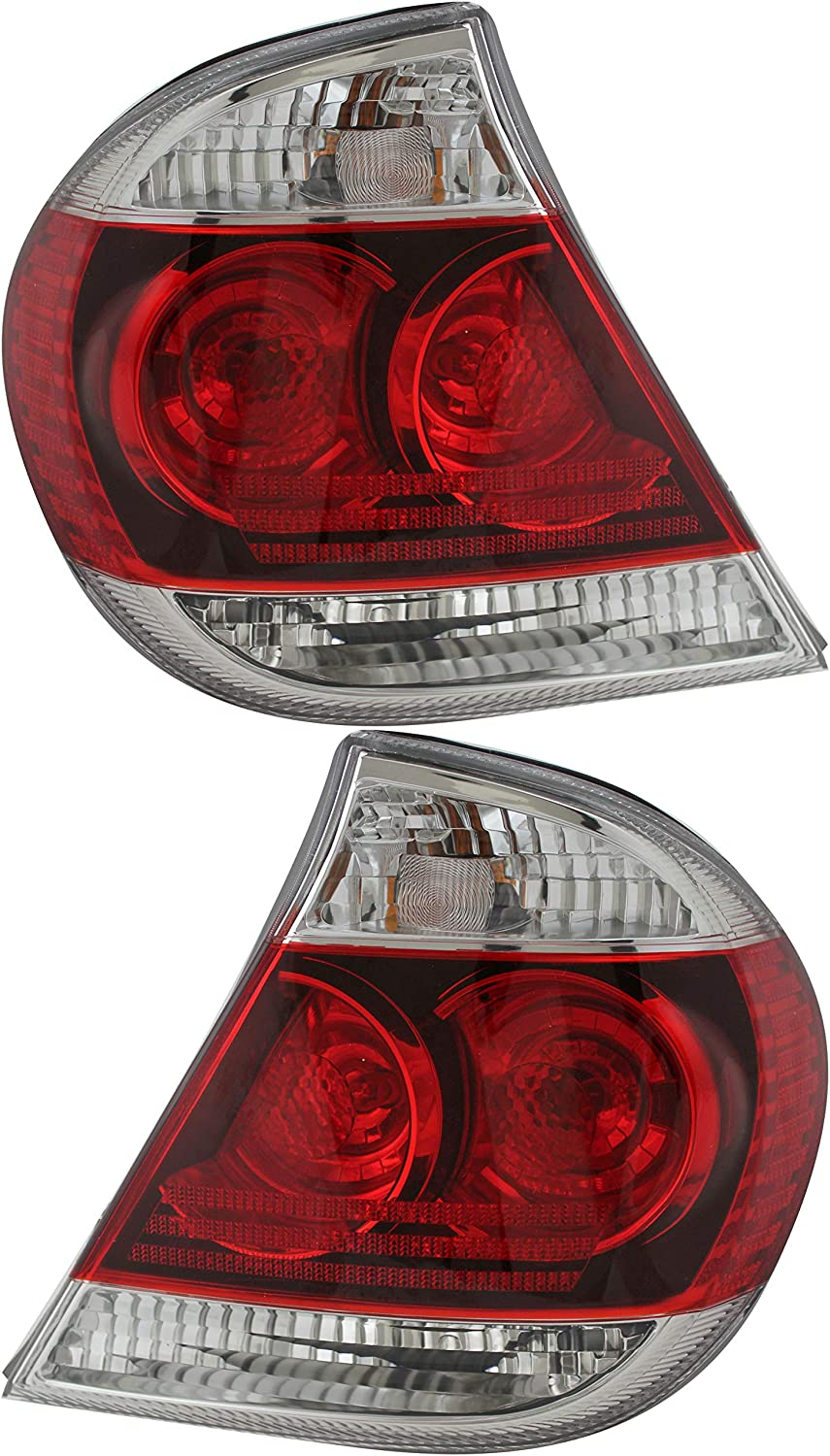 For Toyota Camry Outer Tail Light 正規取扱店 ストアー and Driver 2006 2005 Passenger