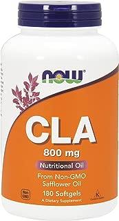 NOW® CLA, 800 mg, 180 Softgels