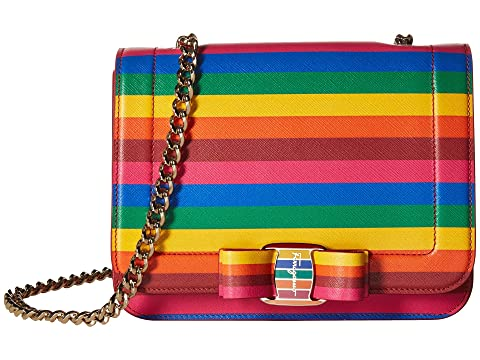 Salvatore Ferragamo Rainbow Vara Crossbody