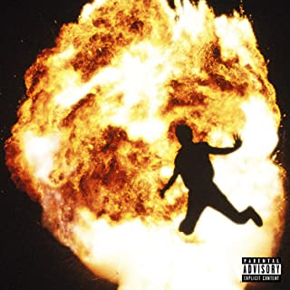 Burning Desire Poster Album Cover Poster Thick Metro Boomin: Not All Heroes Wear Capes 12