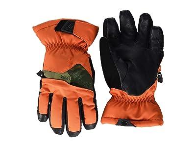 Obermeyer Kids Lava Gloves (Little Kids/Big Kids) (Hot Shot) Extreme Cold Weather Gloves