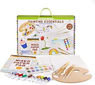 Art Supplies for Kids - Kid Made Modern Painting Essentials - 30 Piece Paint Gift Set for Young Artists
