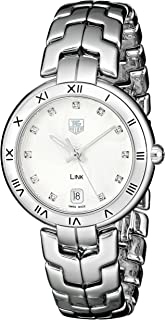 TAG Heuer Women's WAT1311.BA0956 Link Analog Display Quartz Silver Watch