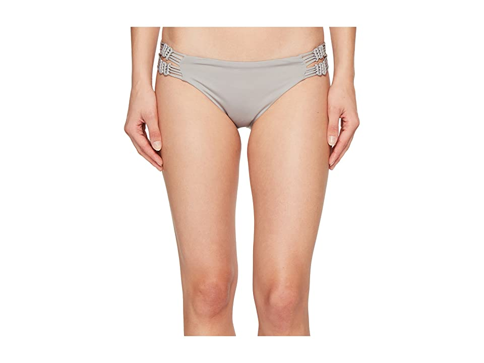 Dolce Vita Solids Bottom with Macrame Side Inserts (Cement) Women