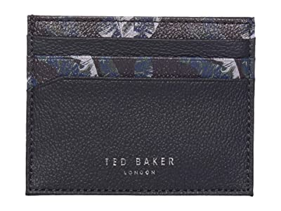 Ted Baker Greed Printed Leather Card Holder (Navy) Credit card Wallet