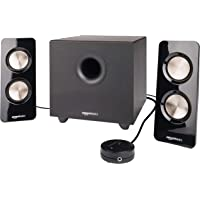 AmazonBasics 2.1 25W Speakers with Subwoofer