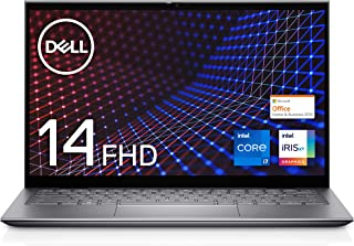 【MS Office Home&Business 2019搭載】Dell モバイル2-in-1ノートパソコン Inspiron 14 5410 シルバー Win10/14FHD/Core i7-1165G7/16GB/1TB SSD/Webカメ...