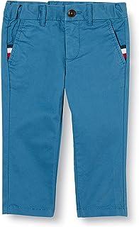 Tommy Hilfiger Essential Slim Chino Pantalones para Niños