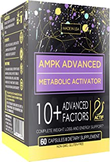 Actif AMPK Advanced Metabolic Activator, 60 Capsules