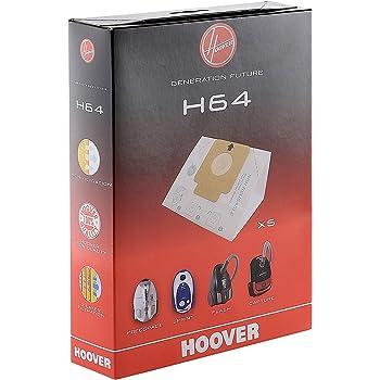 Hoover 09200245 Sacchetti per aspirapolvere H64 5 pezzi