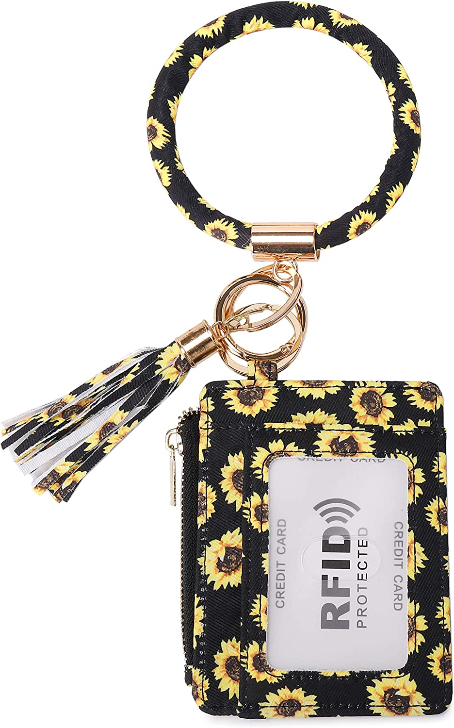 Keychain Wallet for Women RFID Credit Max 41% OFF With Card Holder Blocking Over item handling ☆