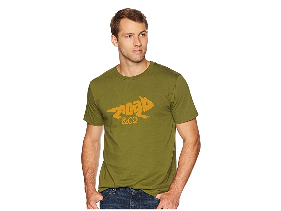 Toad&Co Imbedded Toad Tee (Thyme) Men