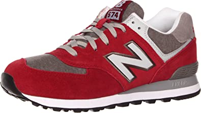 Amazon.com   New Balance Men's ML574 Heather Collegiate-M Sneaker ...