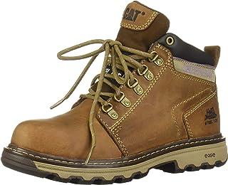 Caterpillar Women`s Ellie Steel Toe / Dark Beige Work Boot