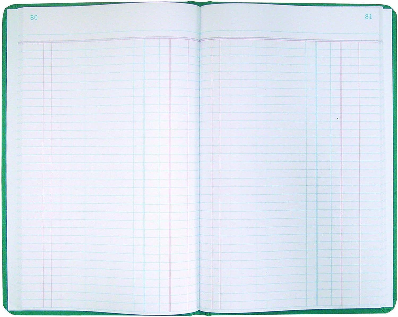 National Marke Record Book, grün Leinwand, 30,8 x 19,4 19,4 19,4 cm 500 Seiten (a66500r) B0042RU1S8    Hohe Qualität und Wirtschaftlichkeit  4f5729