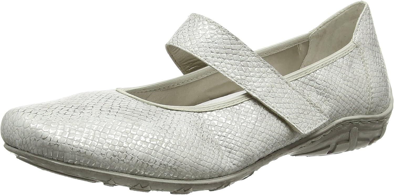 Rieker Rieker Rieker Ladies Mary Jane Style skor'L2062 '  lycklig shopping