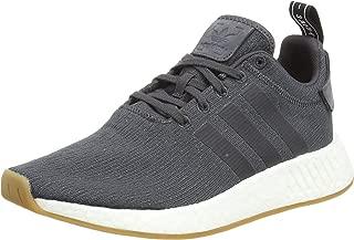 Adidas NMD_r2 Cq2400, Zapatillas Unisex Adulto, Gris (Grey Five F17/Grey Five F17/Core Black 000), 44 EU