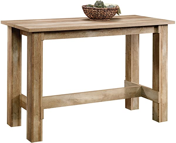 Sauder 416698 Boone Mountain Counter Height Dining Table L 55 12 X W 25 59 X H 35 39 Craftsman Oak Finish