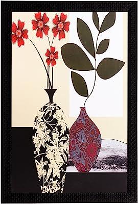 eCraftIndia 'Botanical' UV Art Painting (Synthetic Wood, 36 cm x 51 cm, Matt Textured, FPGK1578_A)