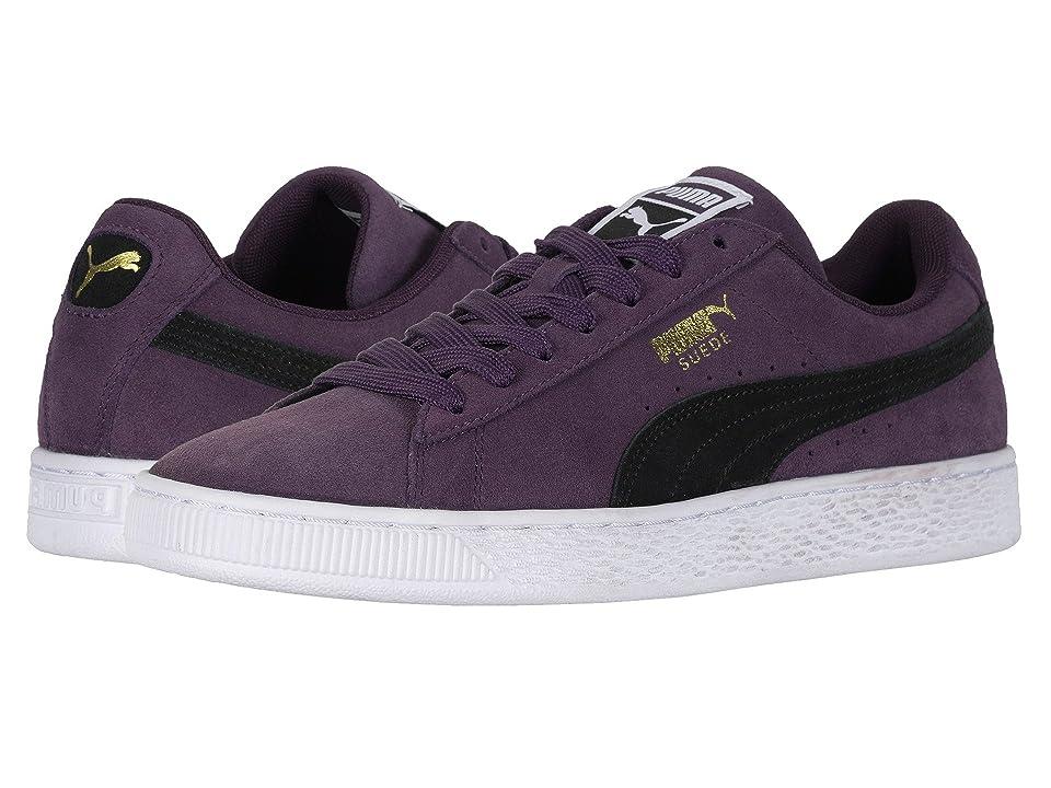 PUMA Suede Classic (Shadow PurplePuma BlackPuma White) Athletic Shoes