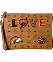 MCM - Love Patch Visetos Pouch Medium