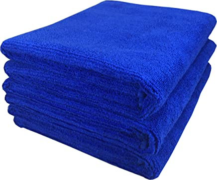 SOFTSPUN Microfiber Car Cleaning,Detailing & Polishing Cloth - 40X60 Cms - Blue (3)