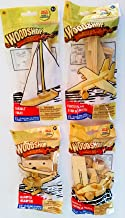 Woodshop DIY Wood Model Kits – Fighter Plane, Race Car, Helicopter (and Sailboat OR..