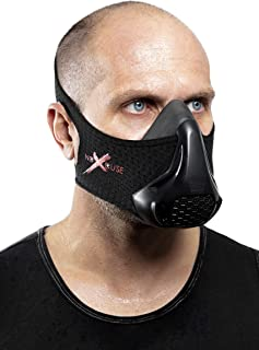 NoXcuse Training MASK - replicating Altitude & Elevation Helps You Workout with Athletic Performance Through Resistance Breathing. Great for Fitness, Running, Gym, and All Sports Activities