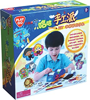 Playgo Sticker Magnets Machine - 4 Years & Above - Multi Color 4892401073921