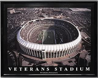 Framed Philadelphia Eagles Veterans Stadium Aerial Print Photo
