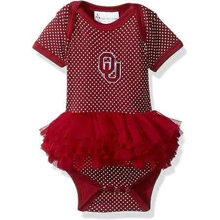 Two Feet Ahead NCAA Alabama Crimson Tide Infant Girls Heart Tutu Creeper Crimson 18 Months