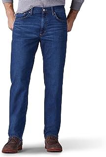 Lee Uniforms Men's Premium Flex Denim Classic Fit Jeans, Empire, 38W x 30L