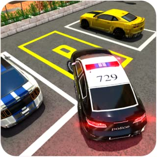 Dr Driving Multi-storey Police Car Parking 2018 : Games For 3d free Lot test